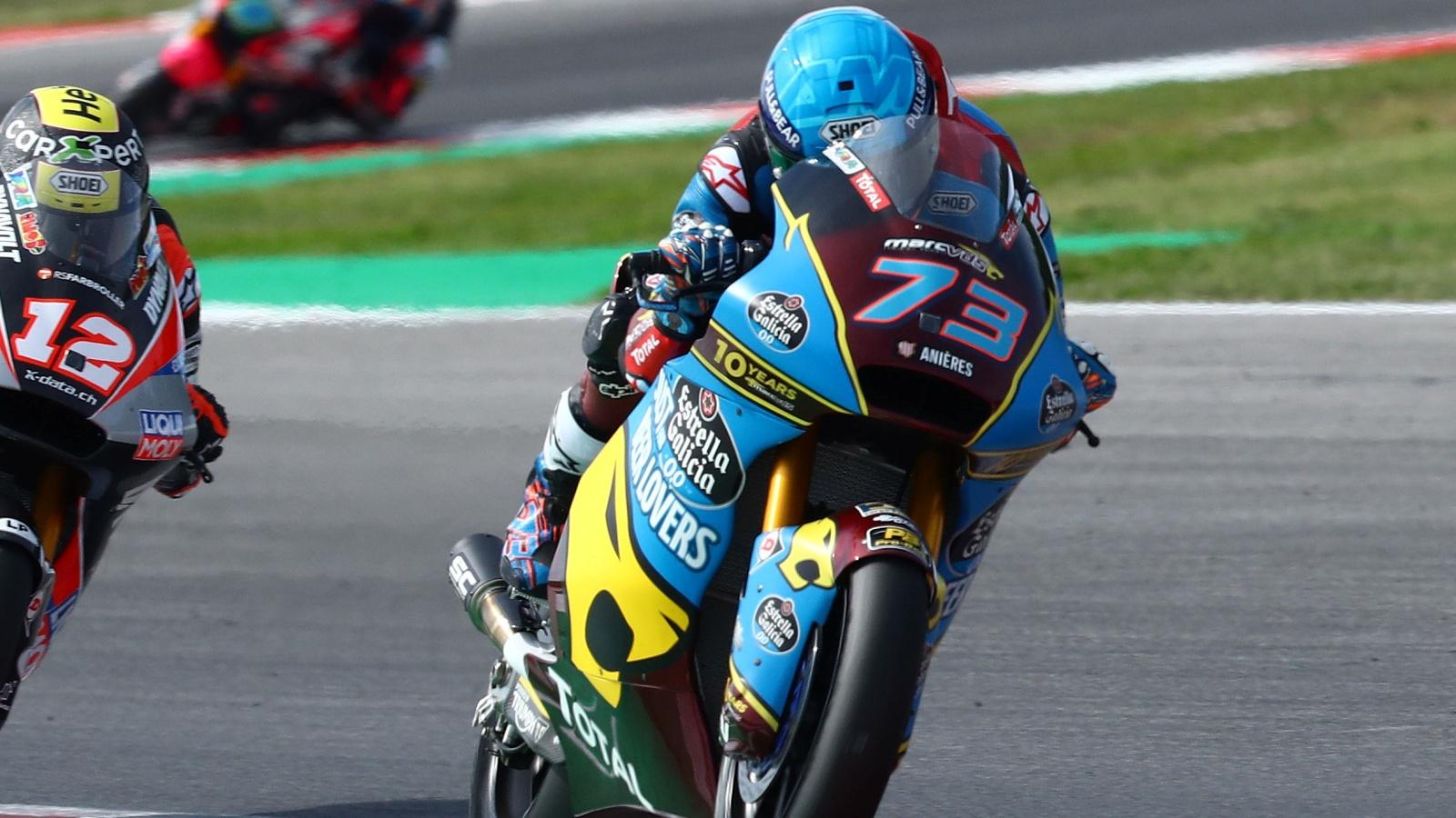 Álex Márquez será campeón del mundo de Moto2 2019 en Malasia si…
