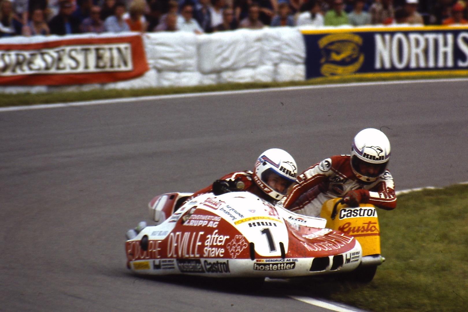 Rolf Biland, el olvidado de MotoGP