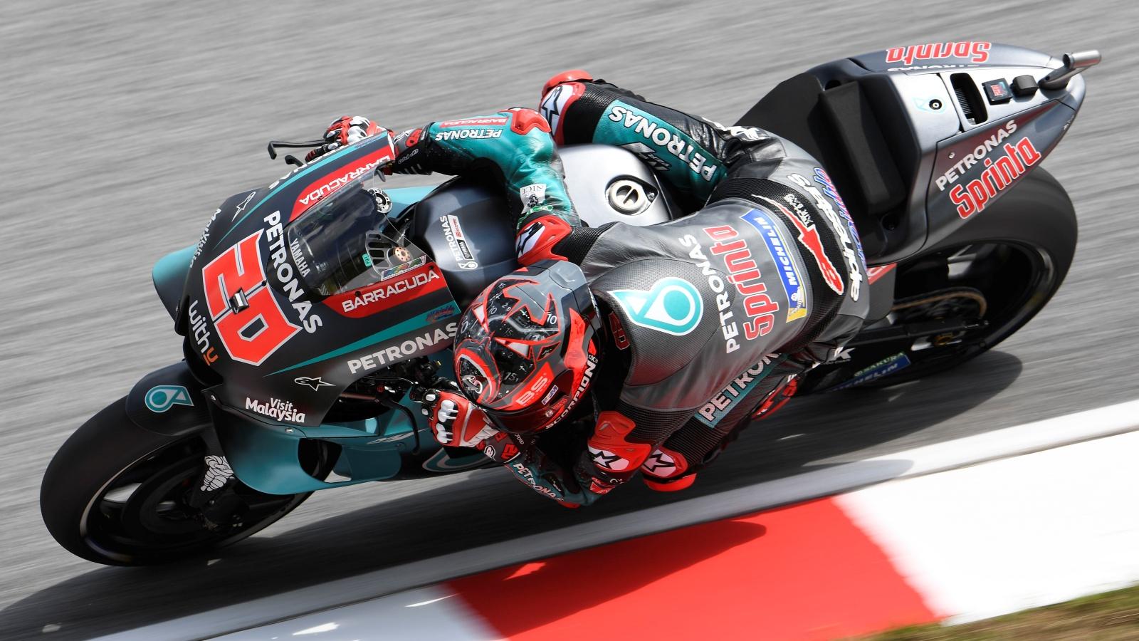 Fabio Quartararo destroza el récord de Sepang en los libres de MotoGP