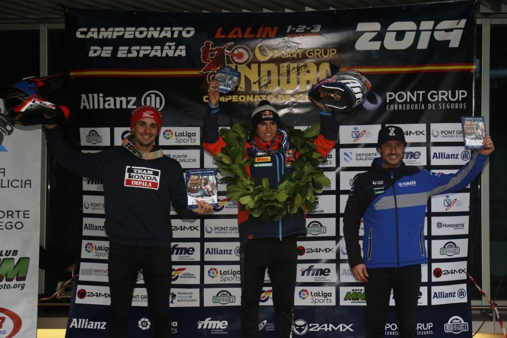 ¡Josep García Campeón de España absoluto de Enduro!