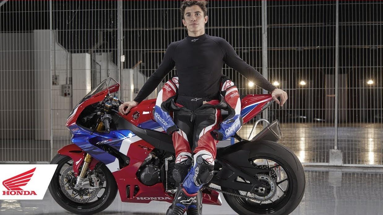 """Marc Márquez se enamora de la Honda CBR1000RR-R: """"Un cohete, como una MotoGP"""""""