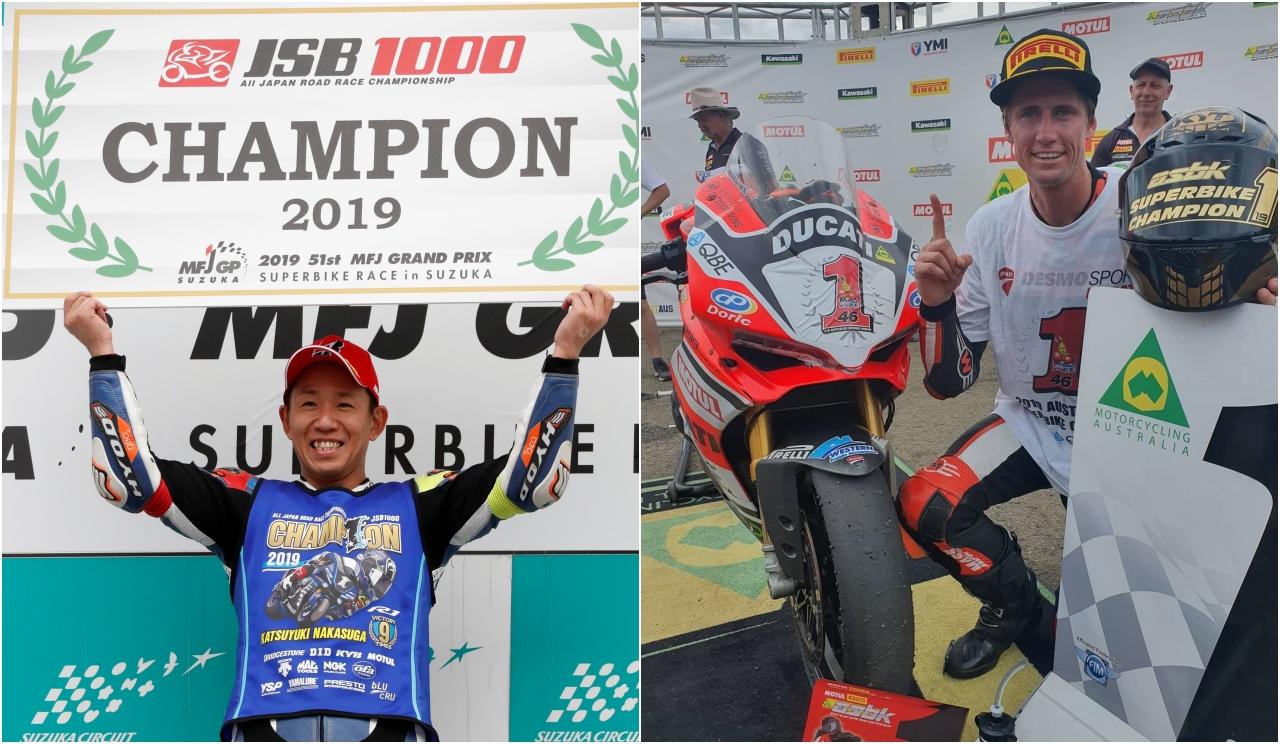 NoTodoMotoGP: Katsuyuki Nakasuga campeón del All-Japan y Mike Jones del ASBK