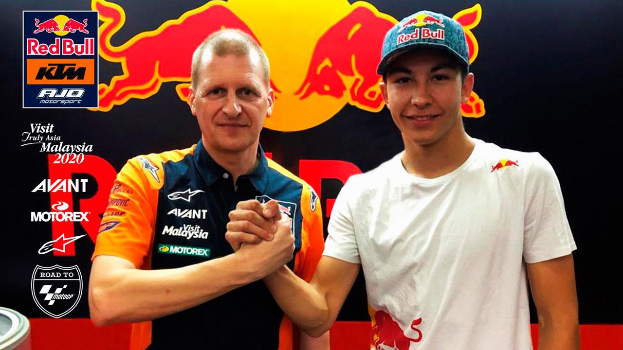 Raúl Fernández ficha por Red Bull KTM Ajo