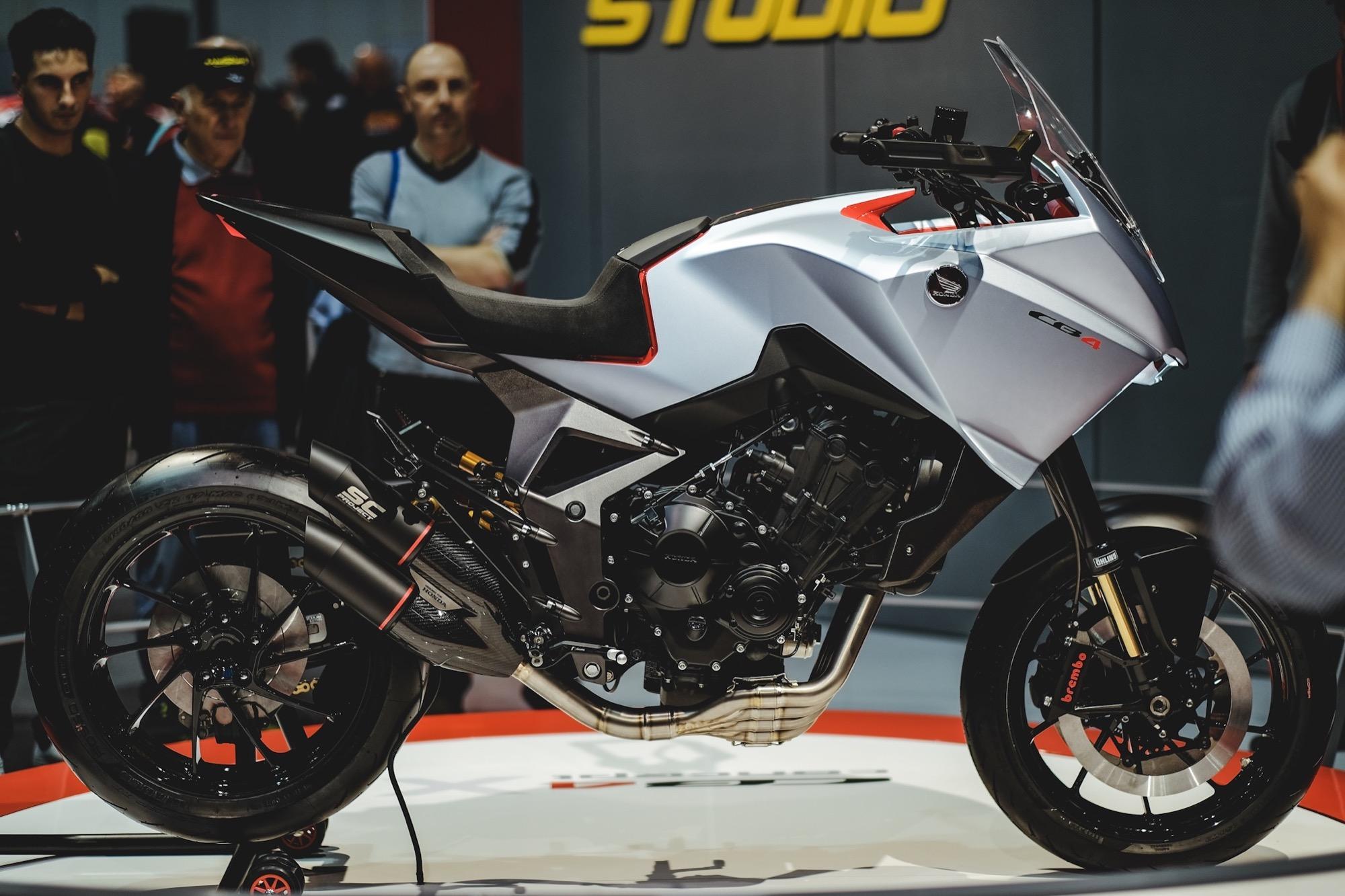Honda CB4 X, la que podría ser la nueva crossover de 4 cilindros de Honda
