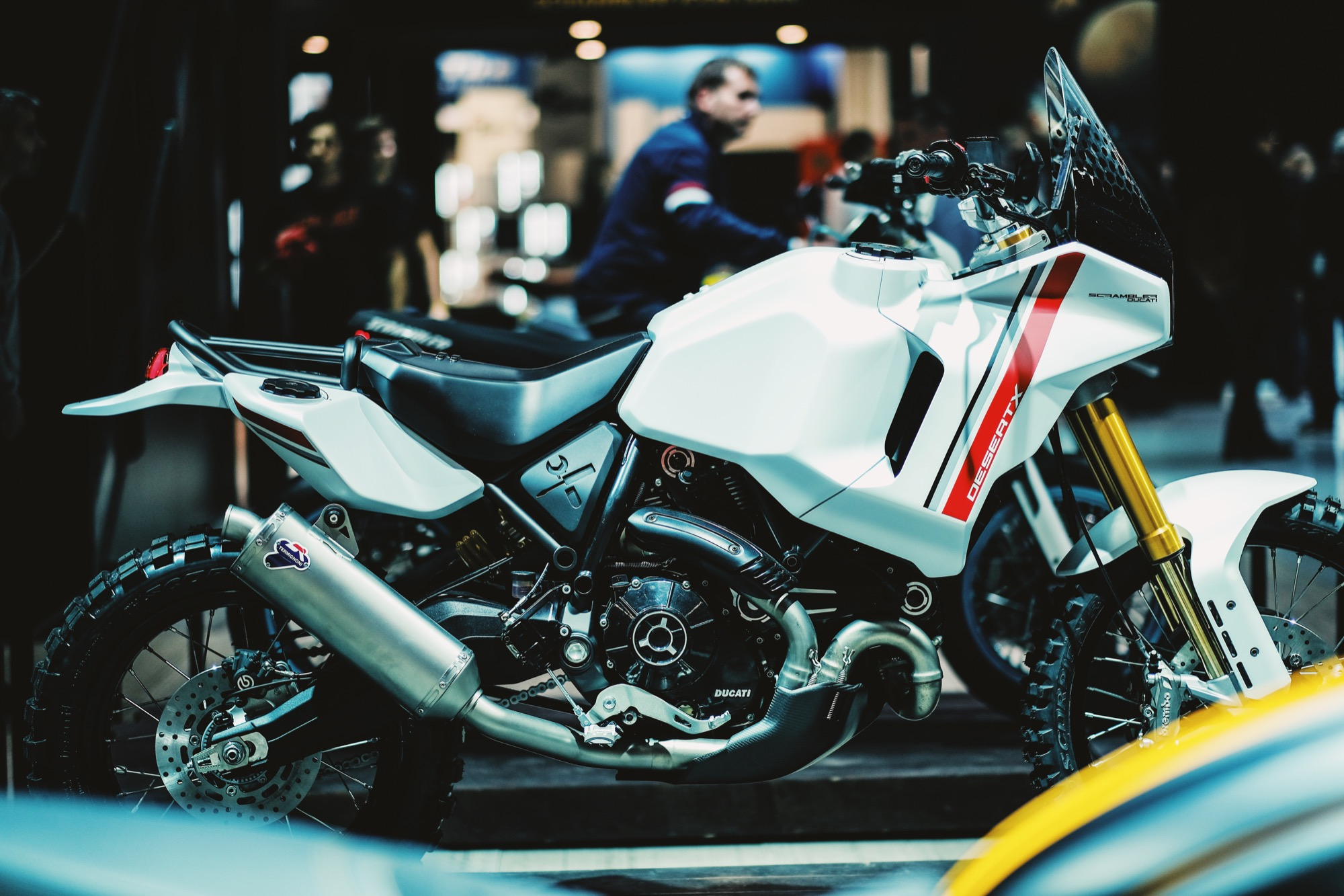 Ducati Scrambler DesertX, y cómo tú puedes hacer que Ducati la ponga en producción