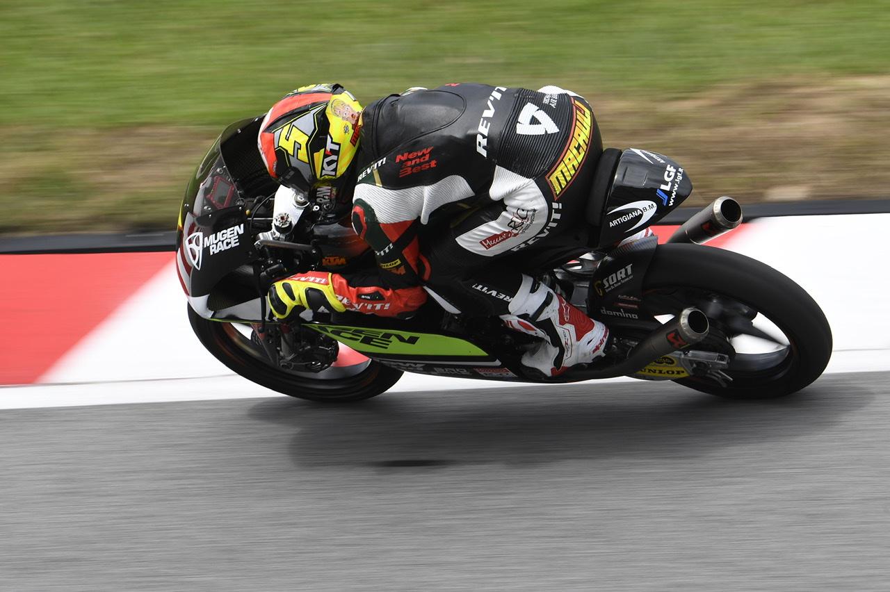 Jaume Masià marca el ritmo en los libres de Moto3 en Valencia