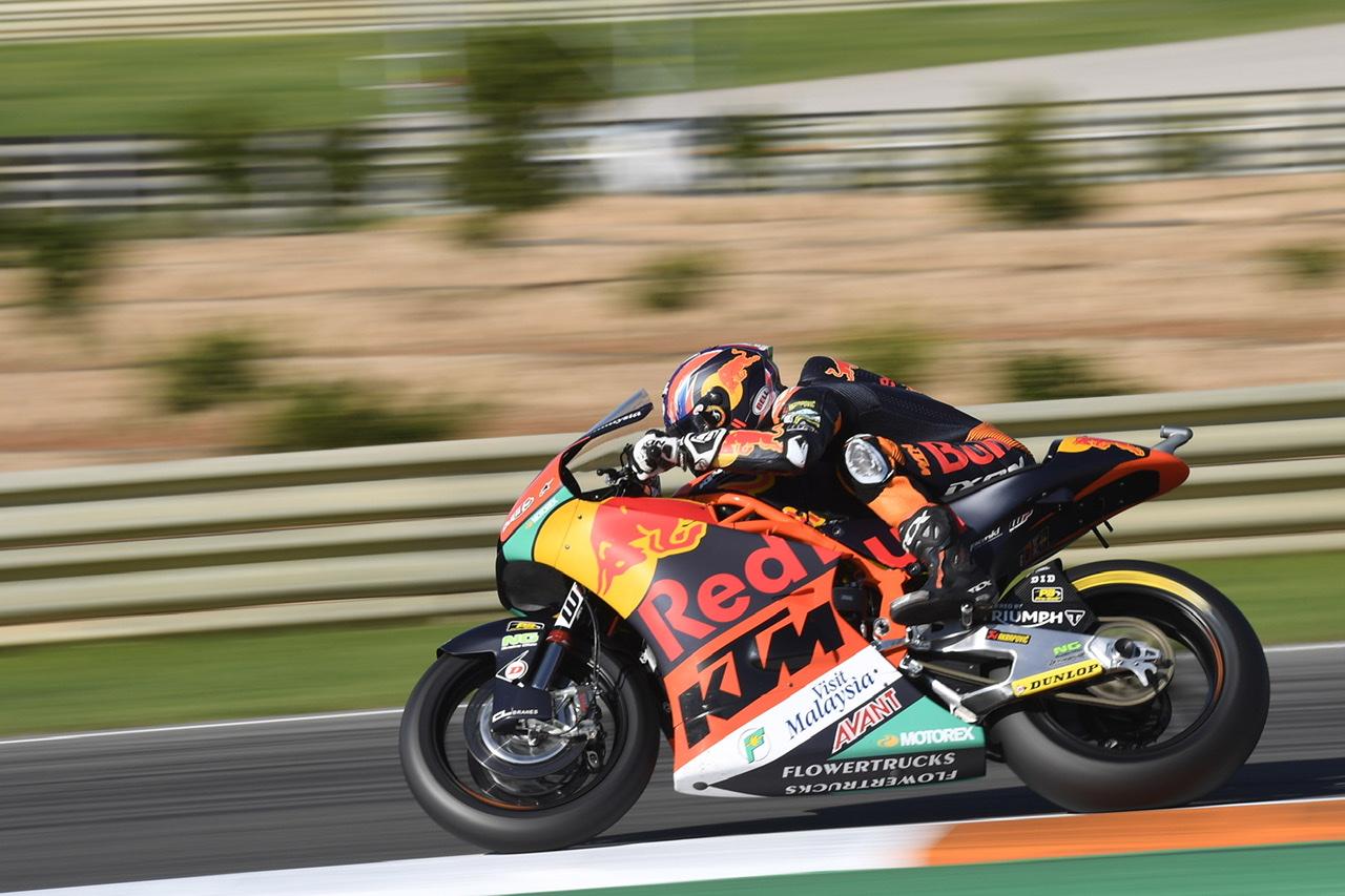 Brad Binder, a un mundo de sus rivales, marca un nuevo récord en Moto2