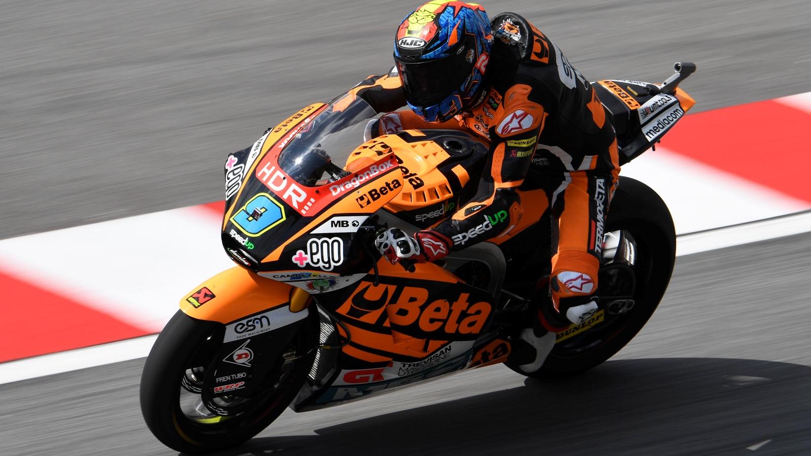 Jorge Navarro hace la pole de Moto2 en casa por delante de Jorge Martín