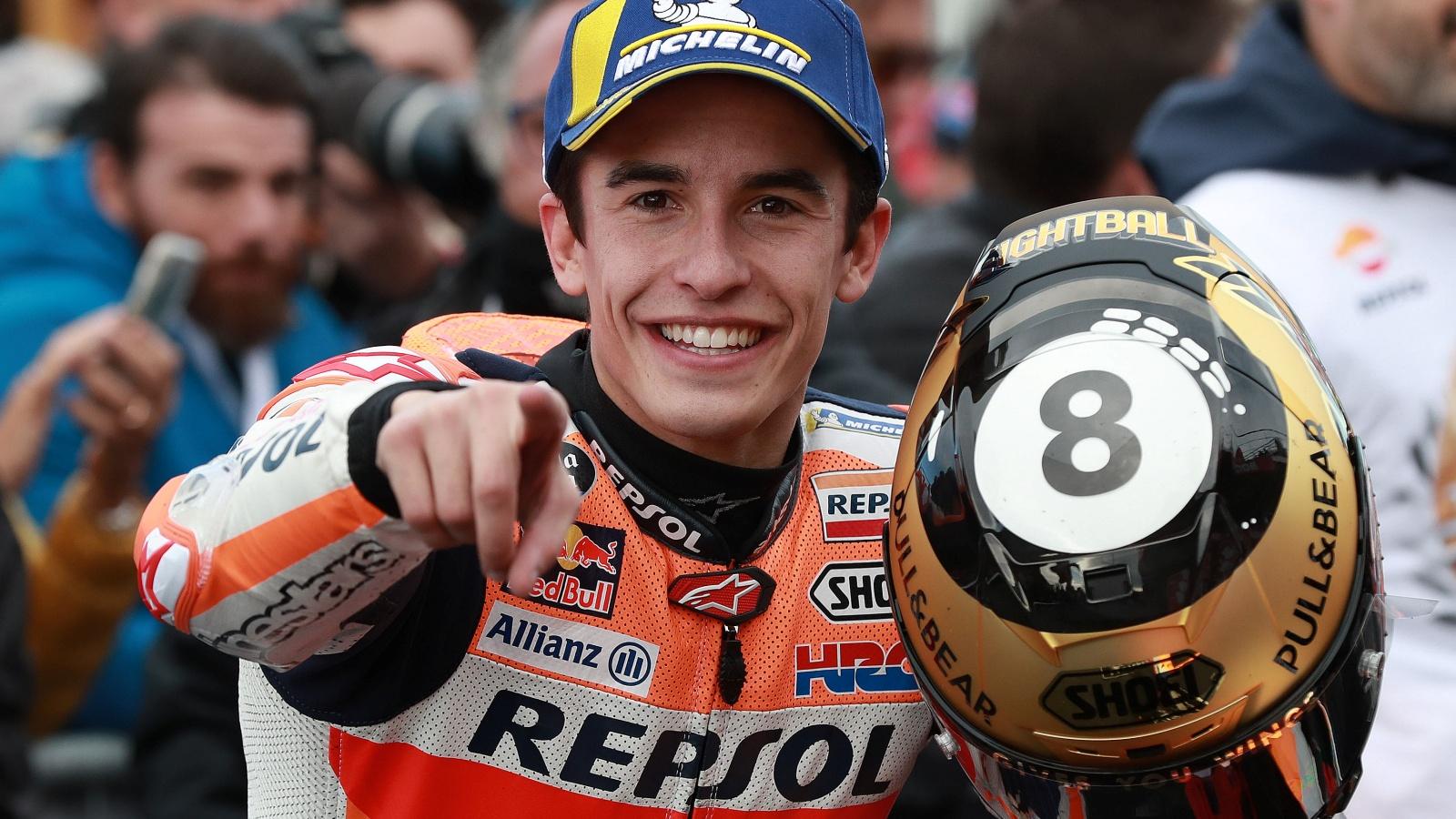 Clasificaciones finales 2019 MotoGP, Moto2, Moto3 y MotoE: pilotos, motos y equipos