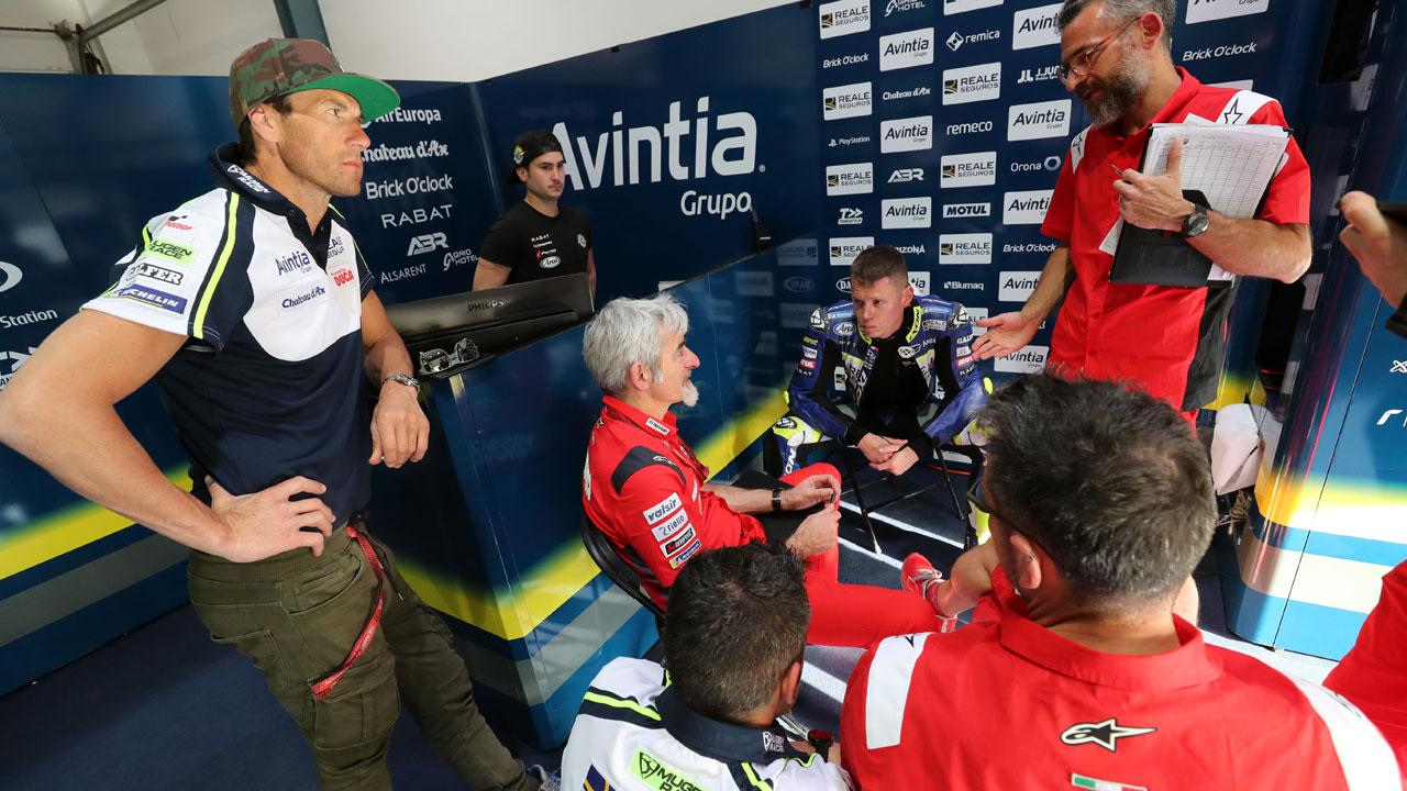 El Reale Avintia sube de estatus en Ducati a la espera de Johann Zarco