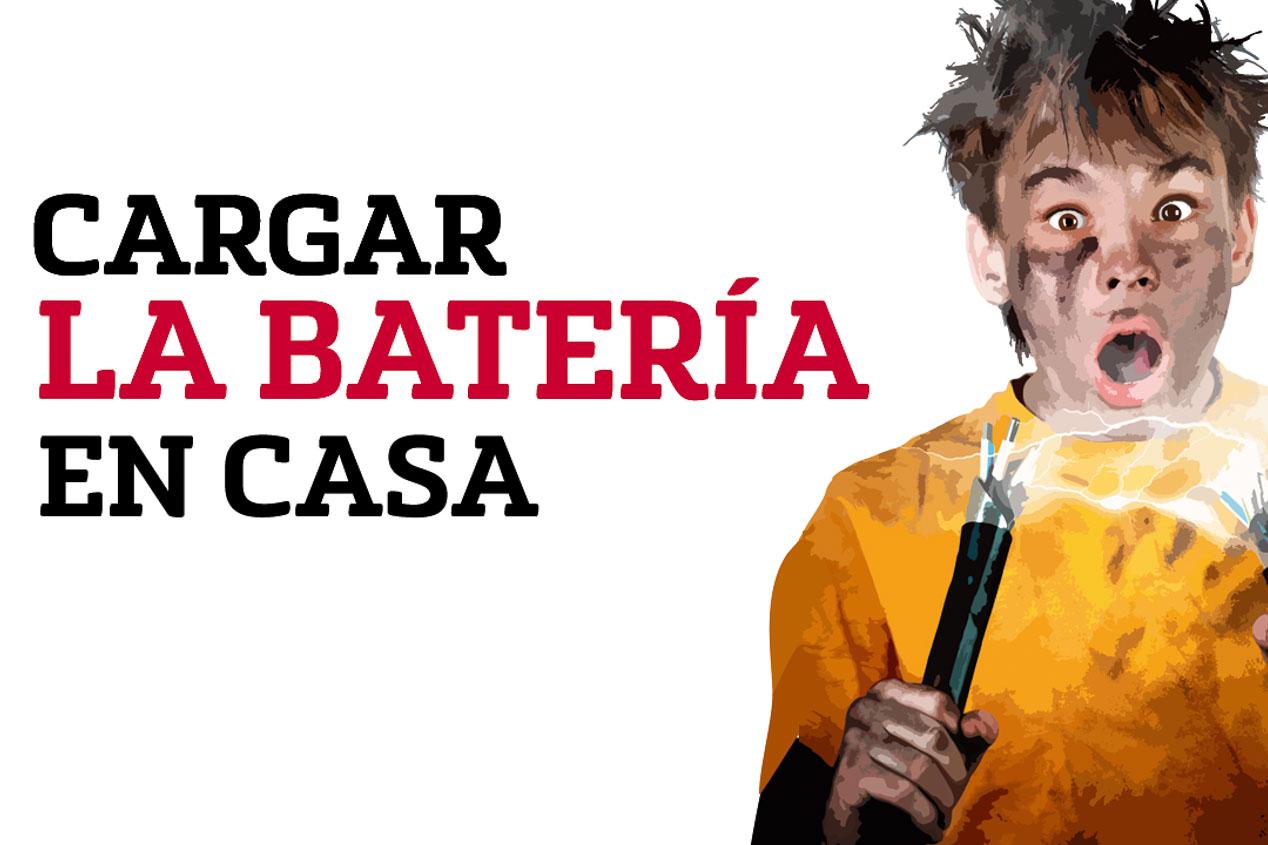 Briconsejo: Cargar la batería en casa