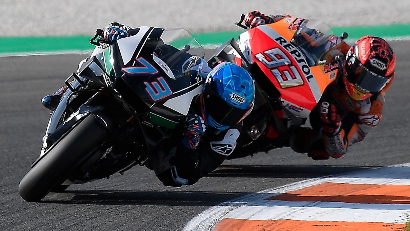 """Los Márquez ya ruedan juntos en MotoGP: """"Marc está a otro nivel"""""""