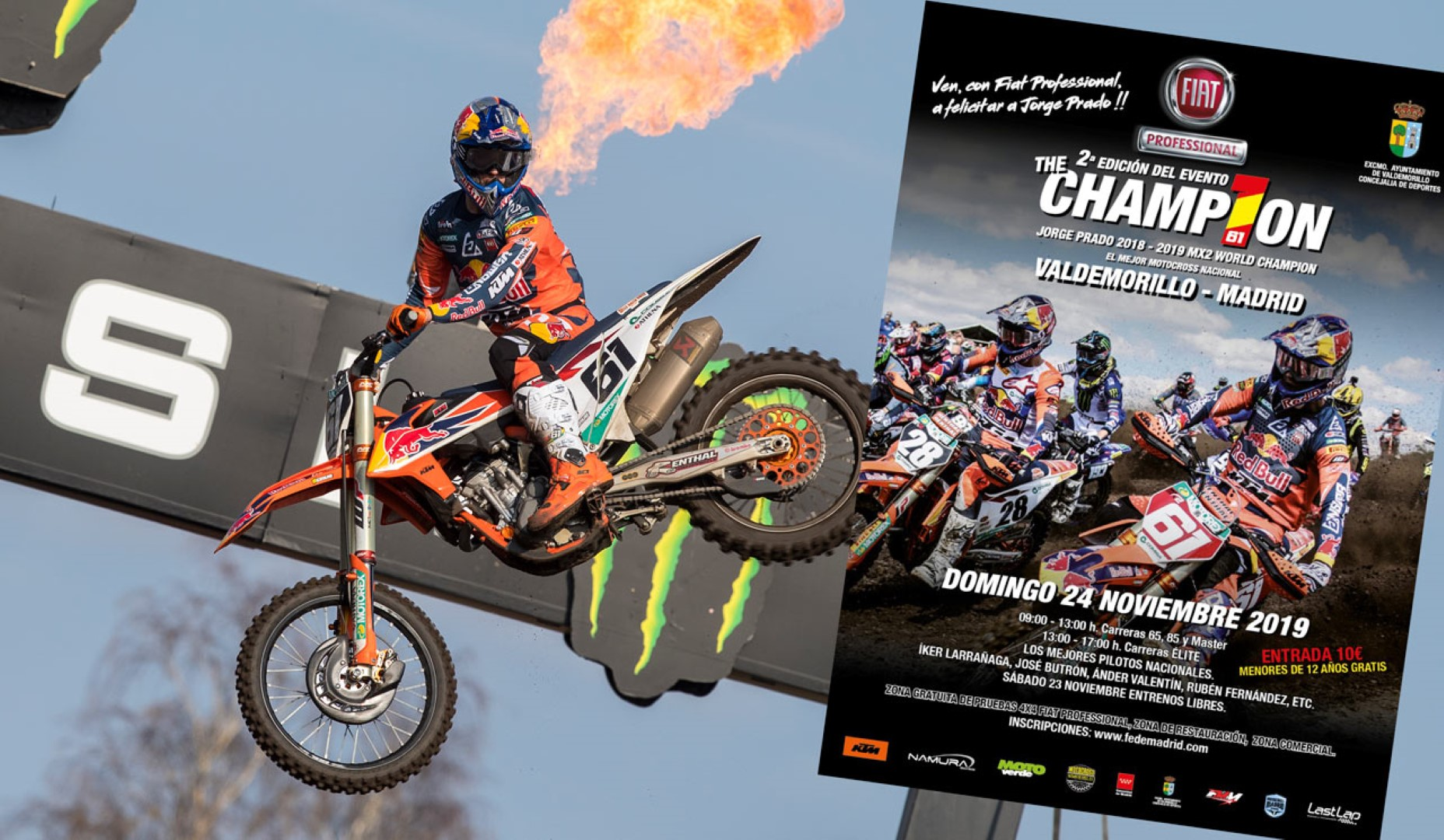 II Edición Fiat Professional The Champ1on: carrera homenaje a Jorge Prado