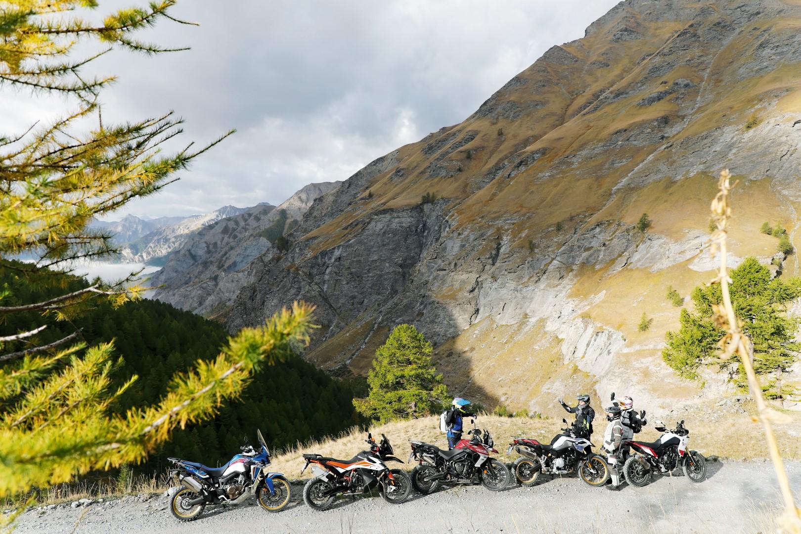 Comparativa trail: BMW F 850 GS, Honda África Twin, KTM 790 Adventure R, Triumph Tiger 800 XCA y Yamaha Ténéré 700