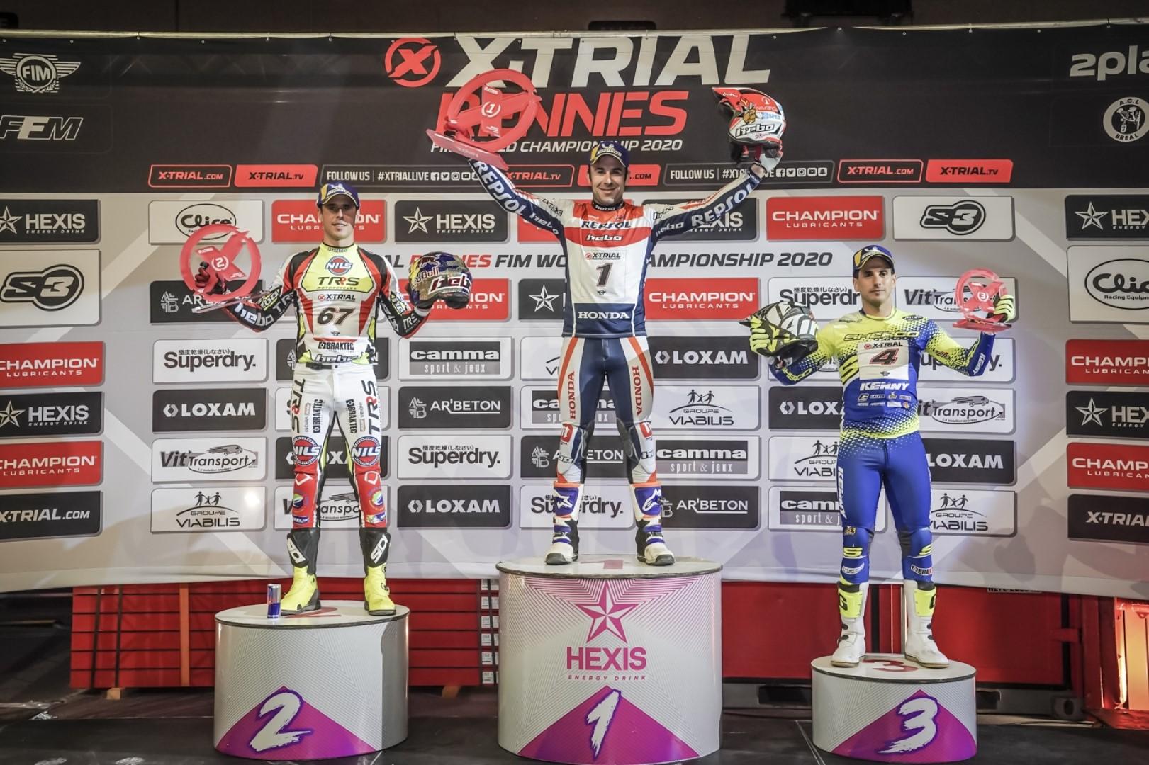 Toni Bou conquista su segundo triunfo en el Mundial XTrial 2020