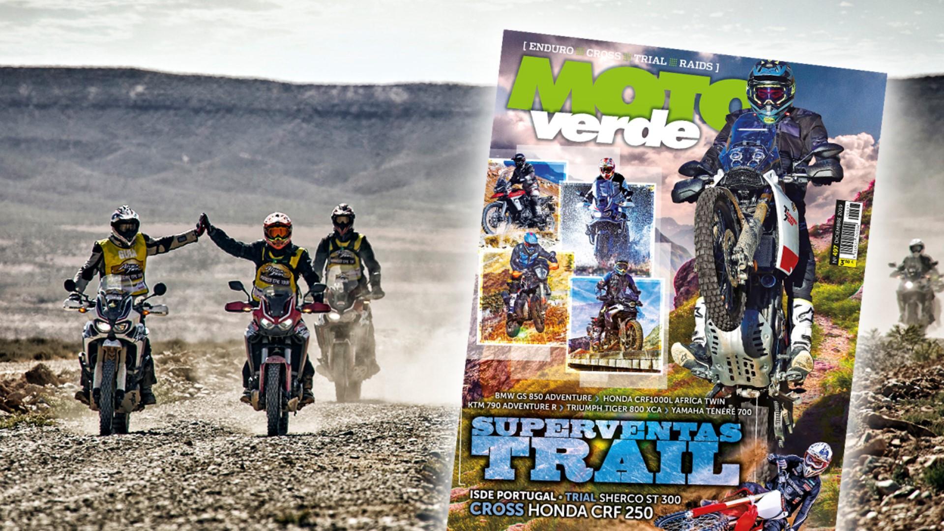 MOTO VERDE 497, contenidos y sumario de la revista