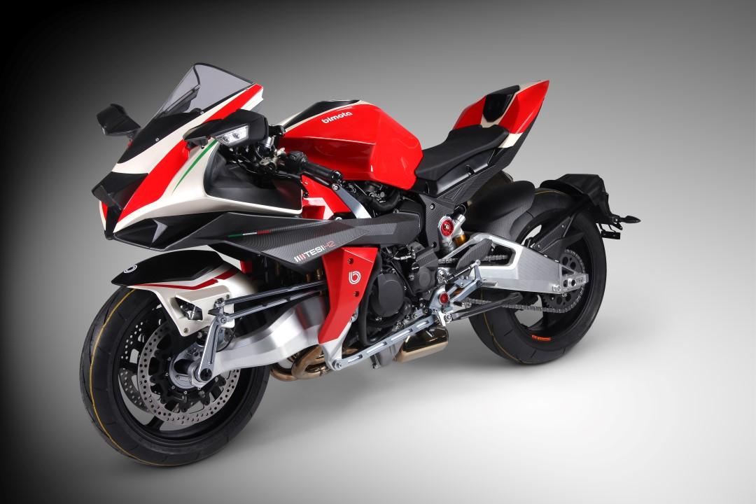 Bimota Tesi H2, la moto más espectacular del mundo