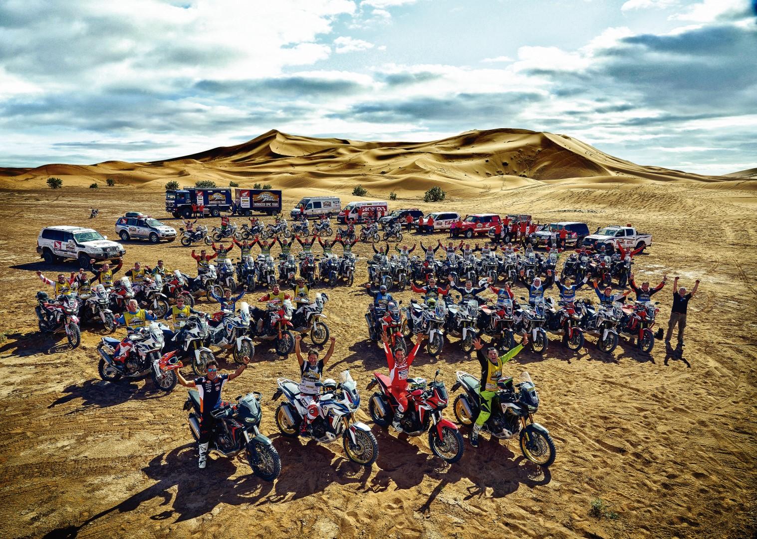 Experiencia verde: Honda Morocco Epic Tour