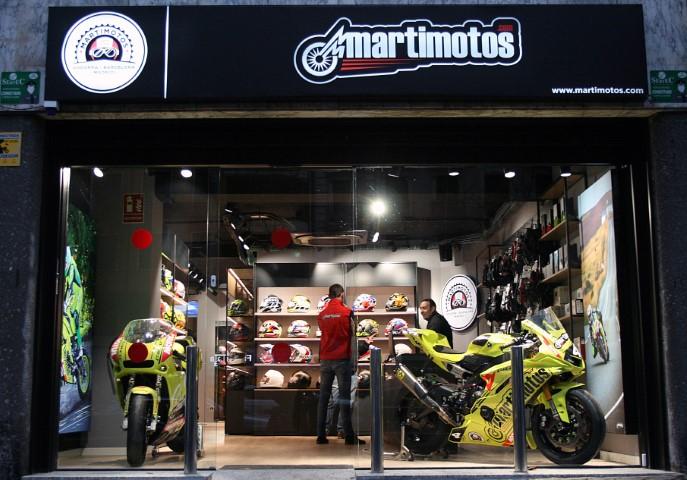 Nueva tienda Martimotos en Madrid