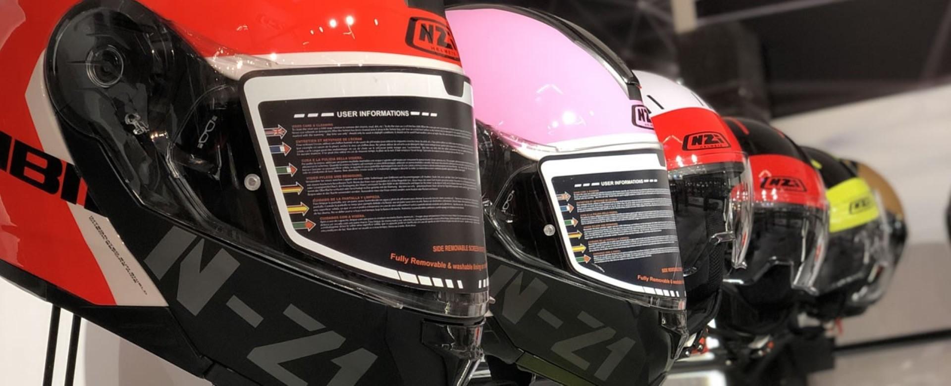 NZI presenta los cascos más personalizados