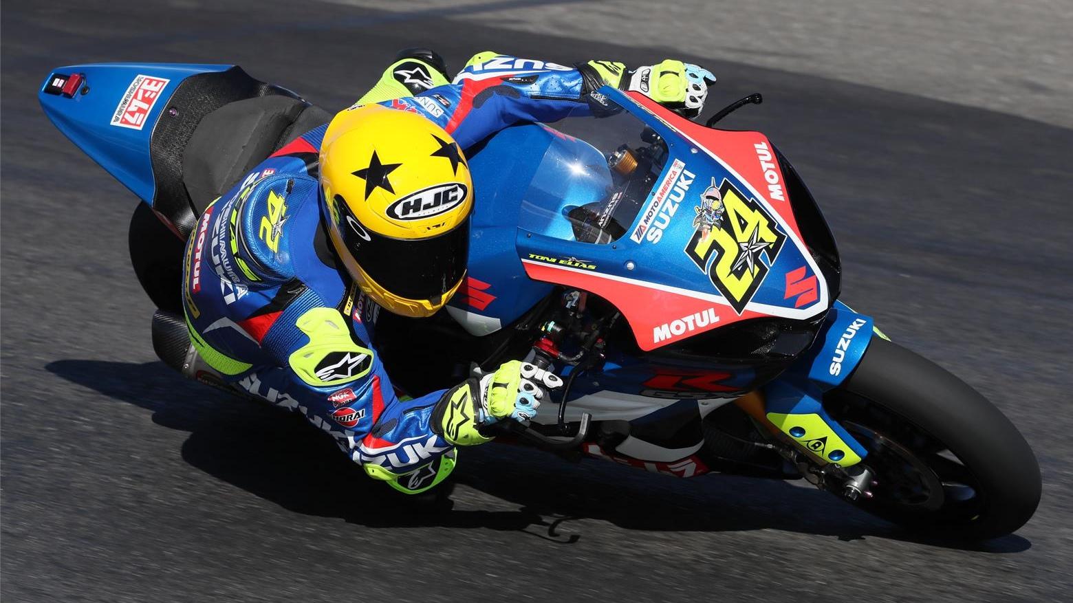 Toni Elías ficha por el Team Hammer para seguir con Suzuki en MotoAmerica