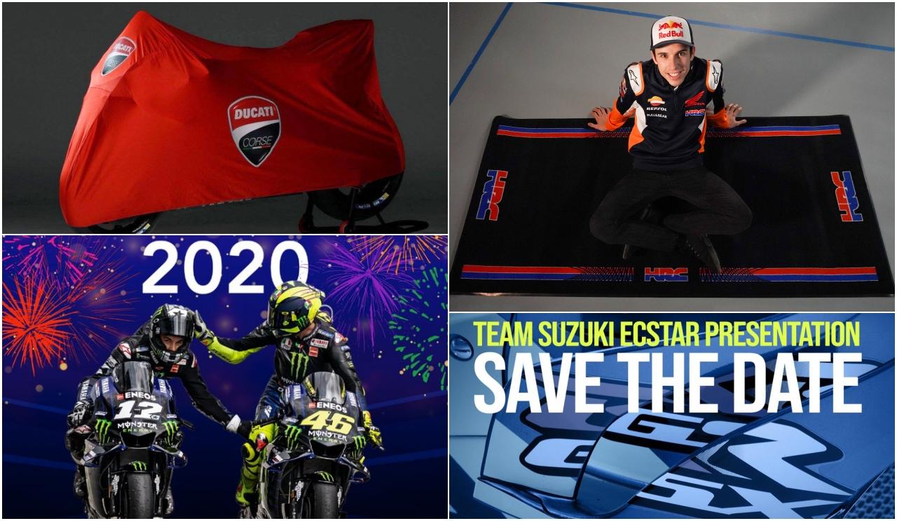 MotoGP 2020: Fechas de las presentaciones de Honda, Yamaha, Ducati, Suzuki y Aprilia