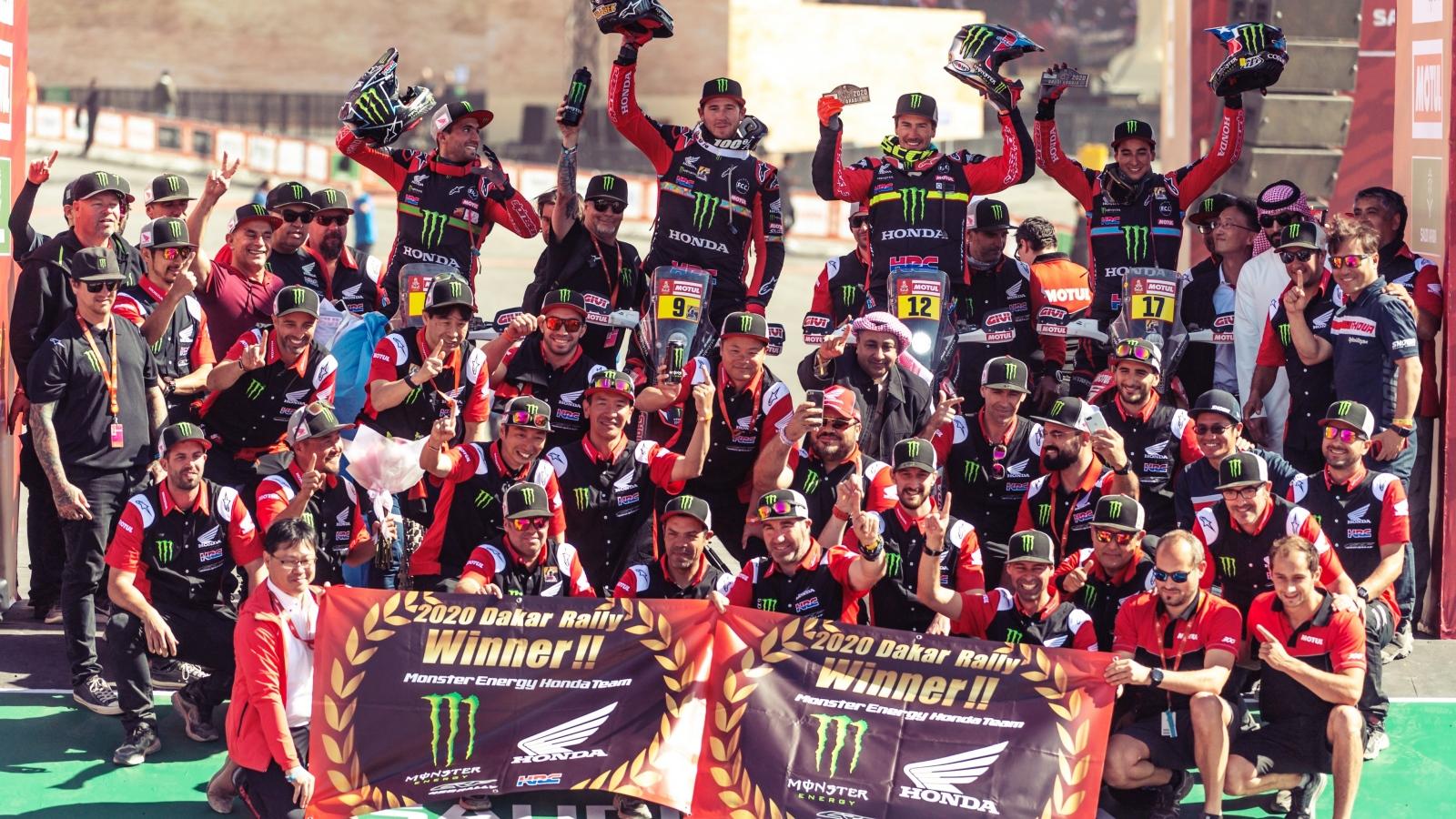 Dakar 2020: Honda culmina el sueño a la octava y Husqvarna desafía a KTM