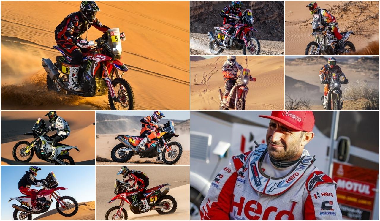 Los 10 nombres propios del Dakar 2020
