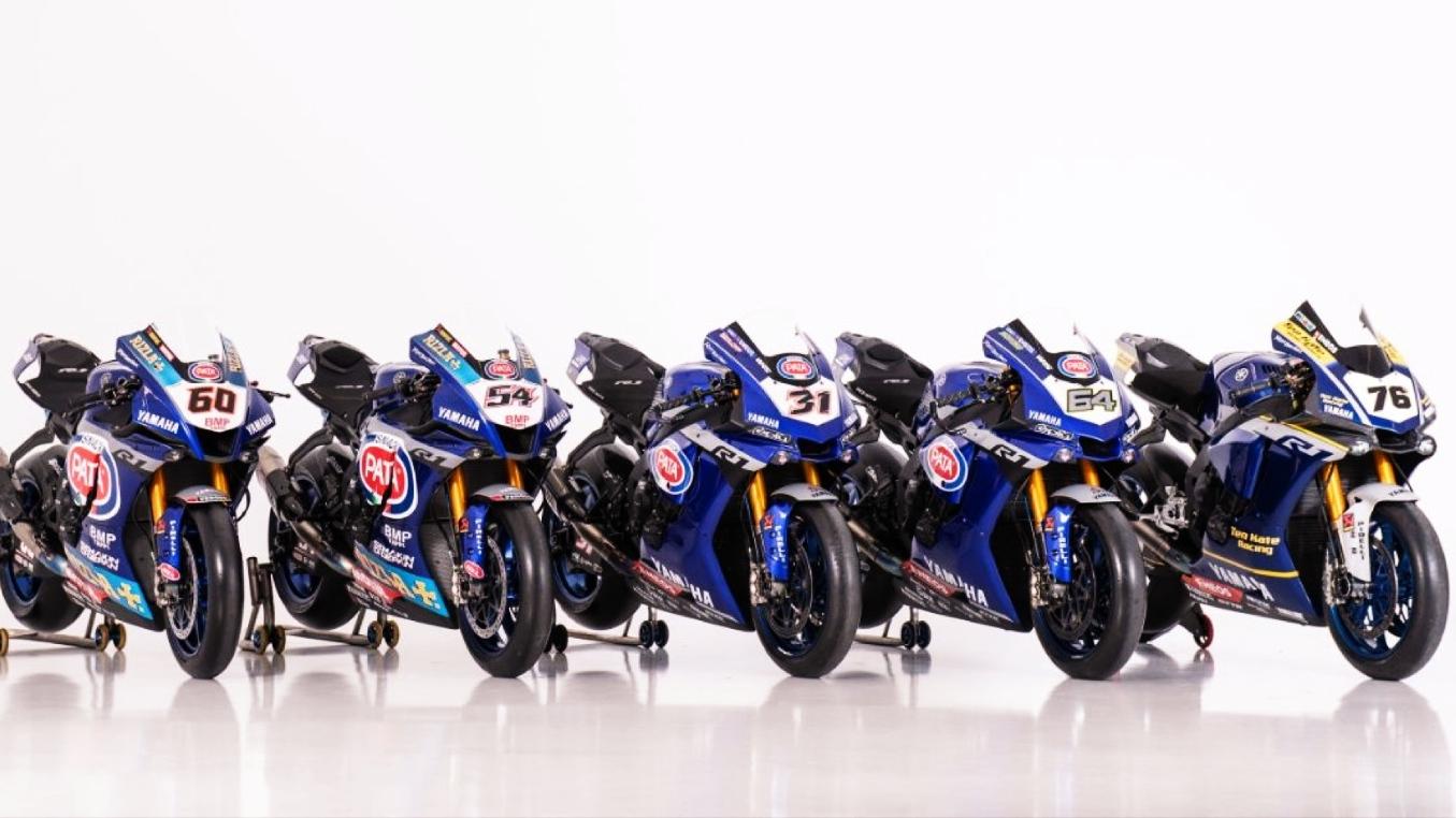 Yamaha presenta su repóquer de pilotos para conquistar el Mundial de Superbike 2020