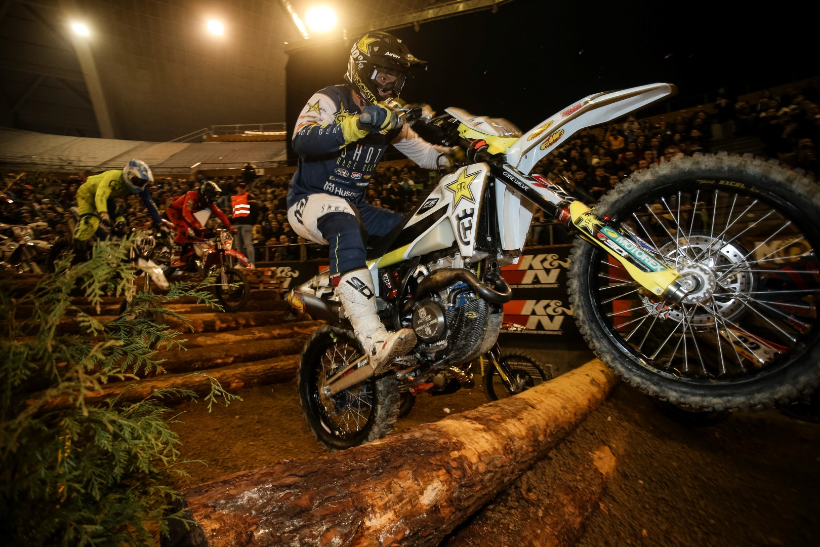 Billy Bolt, imbatible en el SuperEnduro de Coruña