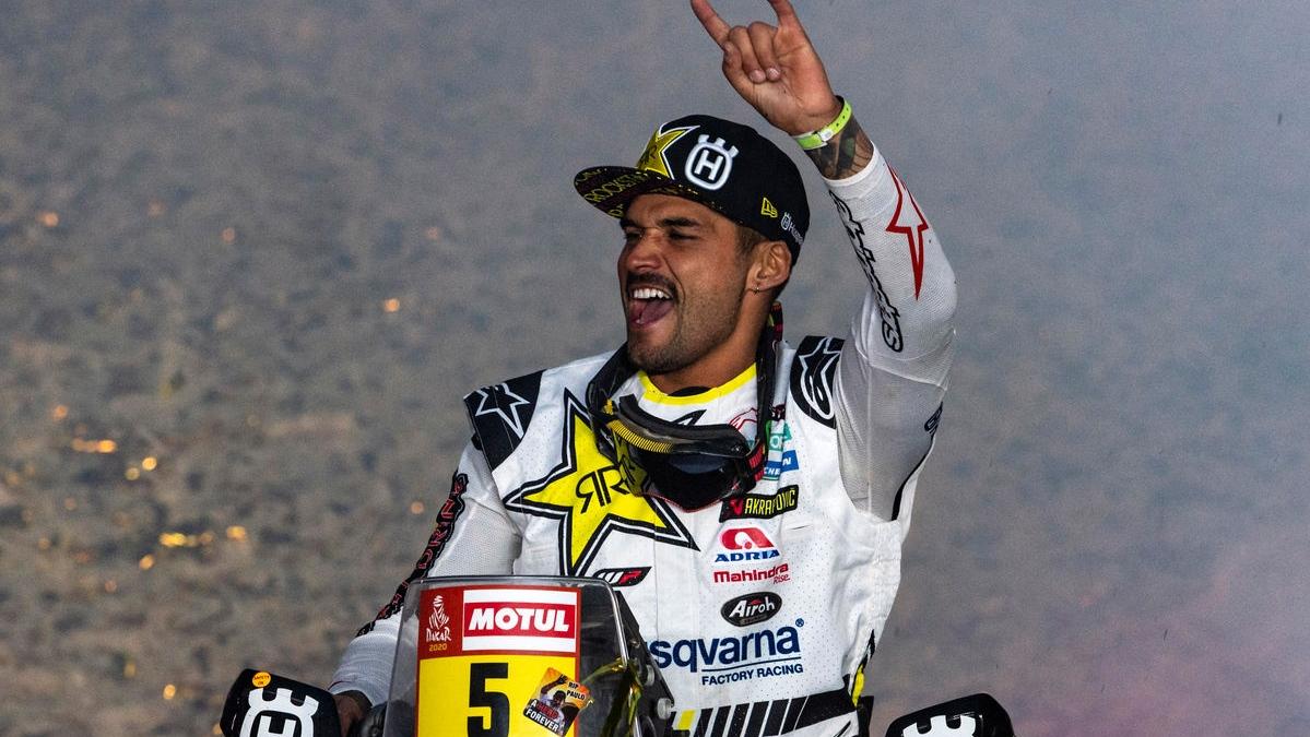 Pablo Quintanilla, un peldaño más en el Dakar con dos pesos a la espalda