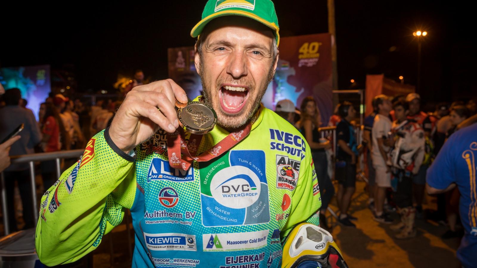 Edwin Straver ha fallecido ocho días después de su accidente en el Dakar
