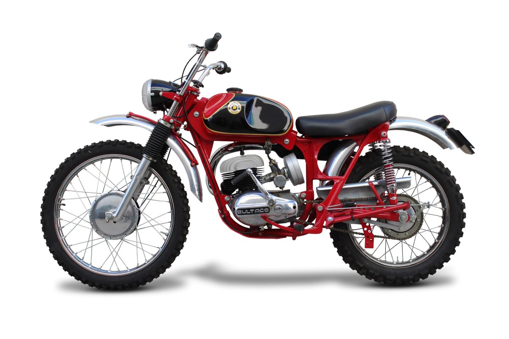 Clásicas Enduro: Bultaco Matador 200 1963