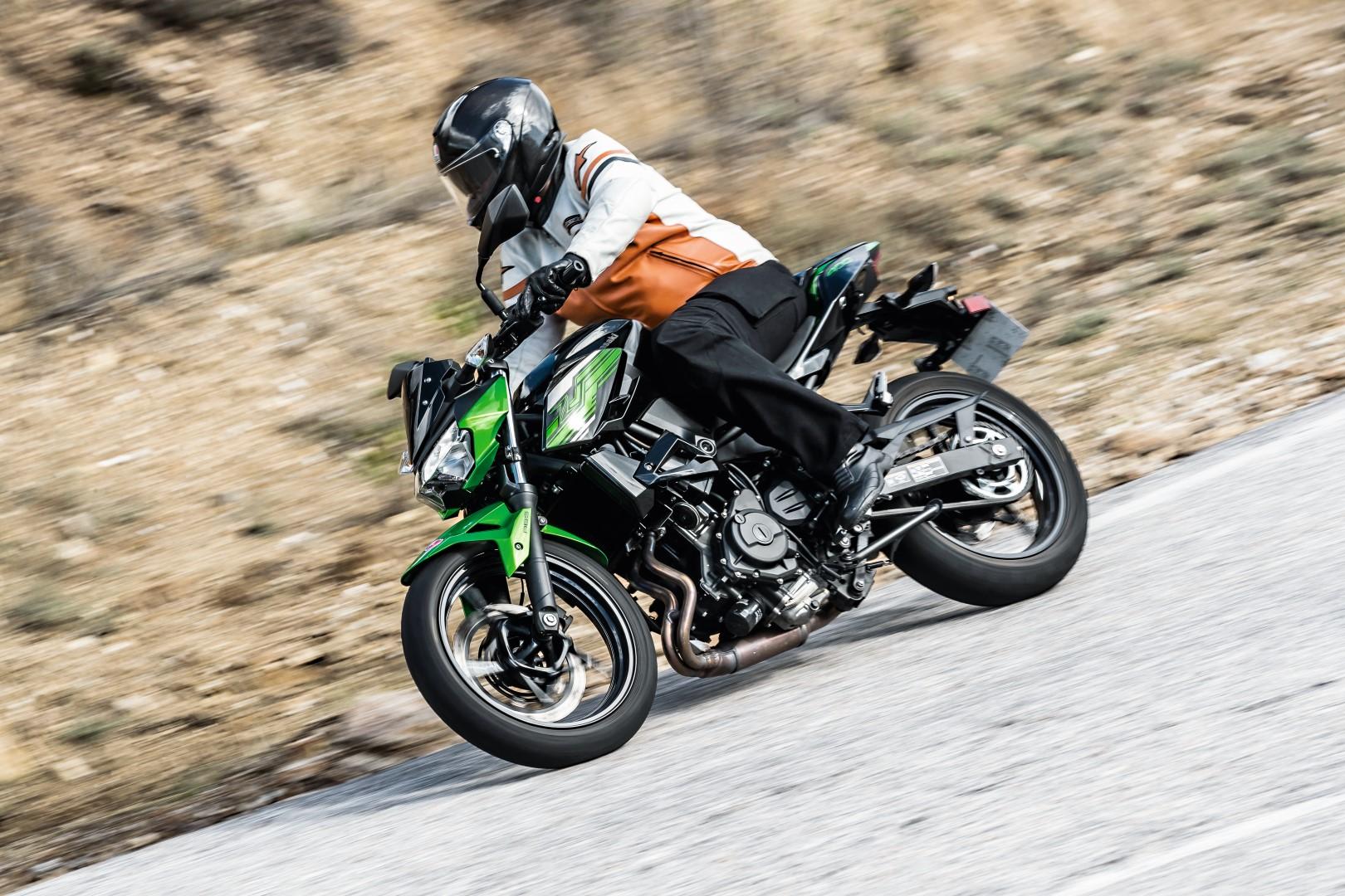 Un mes con la Kawasaki Z 400
