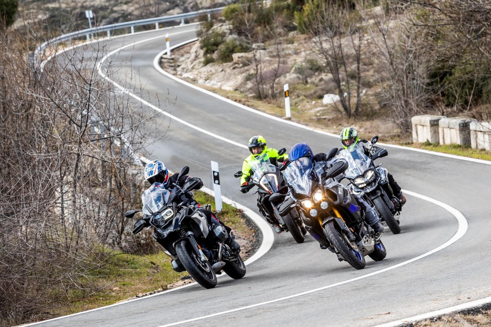 Comparativa maxi trail: BMW R 1250 GS, KTM 1290 Super Adventure S, Triumph Tiger 1200 XCA, Yamaha XT1200ZE Super Ténéré