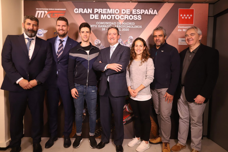 Presentación del MXGP de España 2020