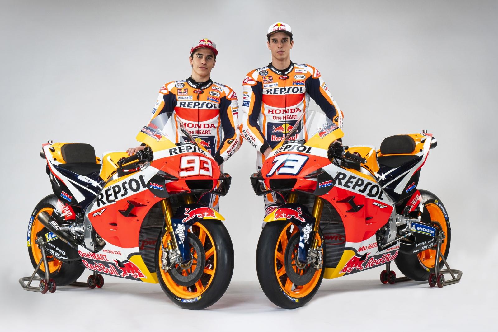 La Honda RC213V de Marc Márquez y Álex Márquez para MotoGP 2020