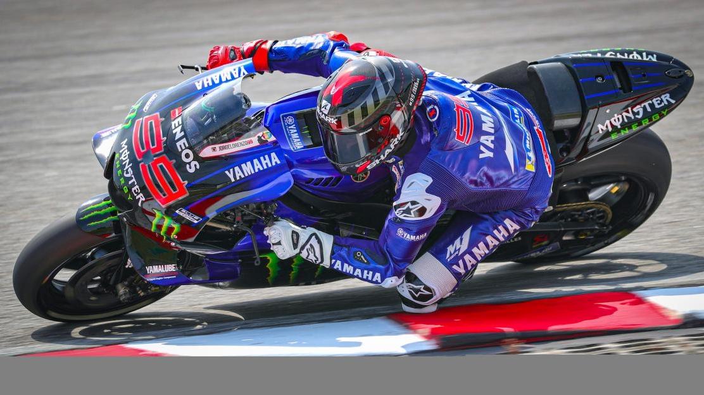 "Jorge Lorenzo: ""Me he sentido en casa, la Yamaha es ideal para mi estilo de pilotaje"""