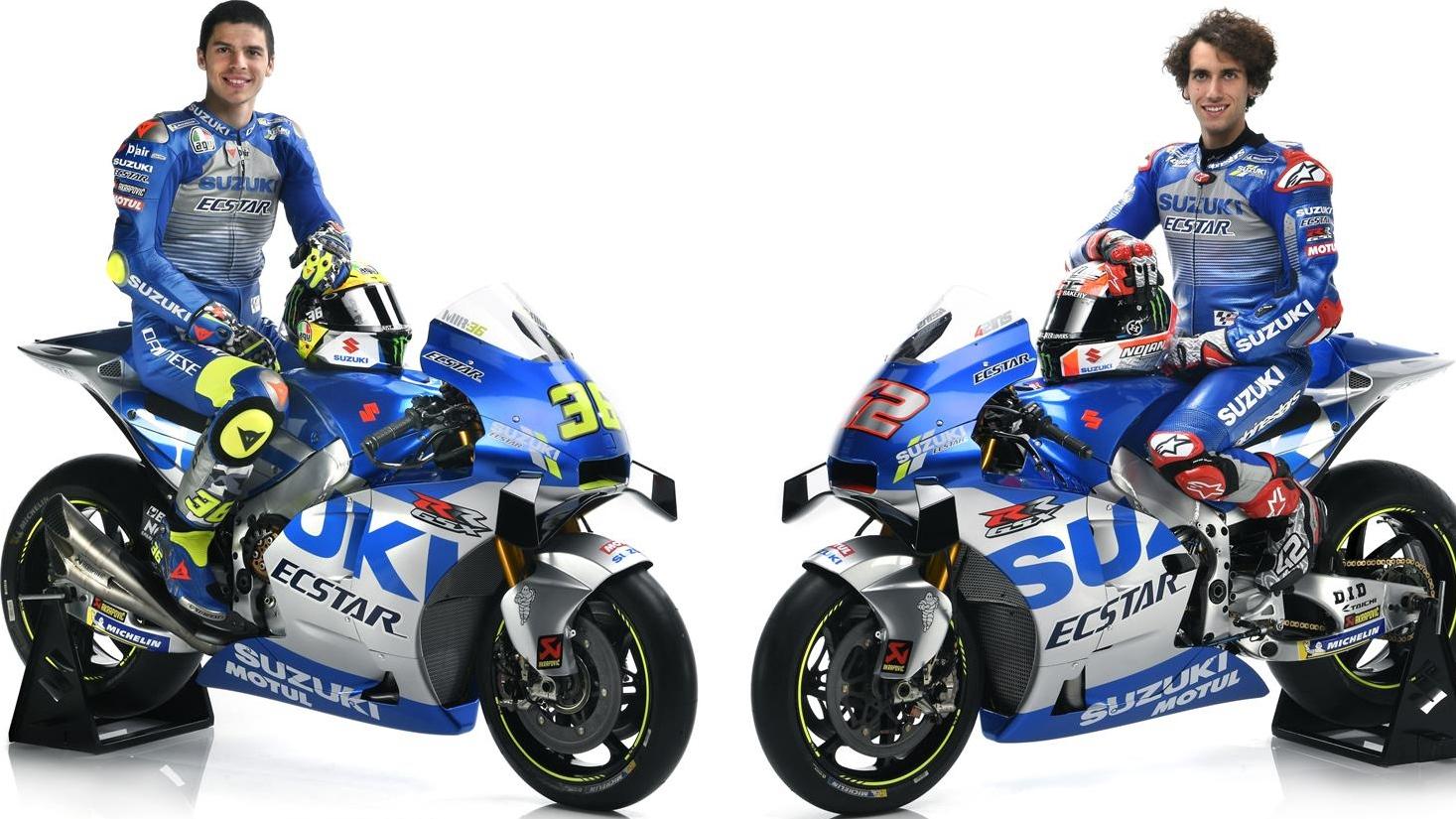 La Suzuki GSX-RR de Álex Rins y Joan Mir para MotoGP 2020