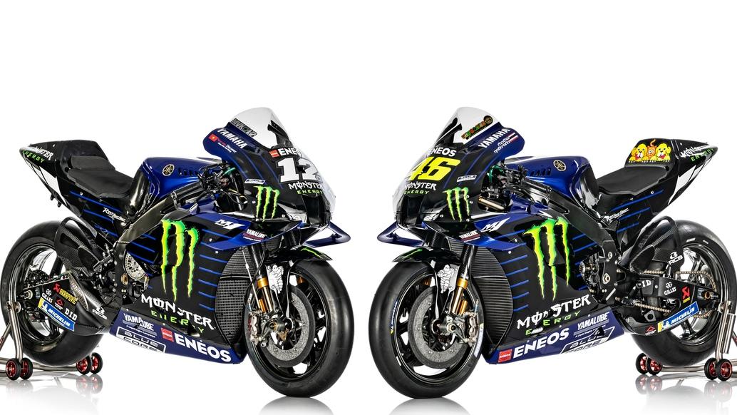 La Yamaha YZR-M1 de Maverick Viñales y Valentino Rossi para MotoGP 2020