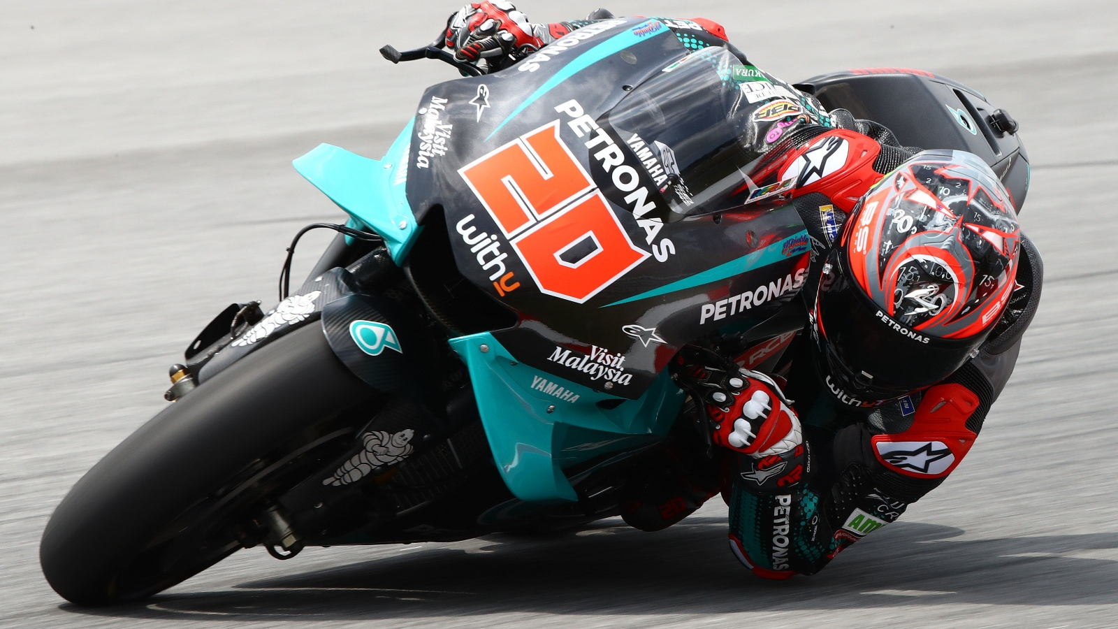 Fabio Quartararo lidera el primer día de MotoGP 2020 en el test de Sepang