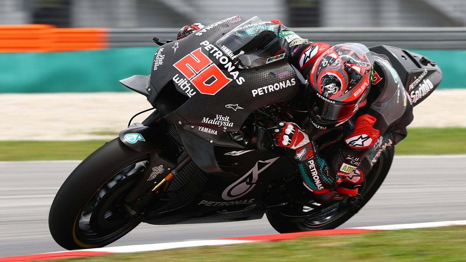 Fabio Quartararo imbatible en la extrema igualdad de los test de MotoGP 2020 en Sepang