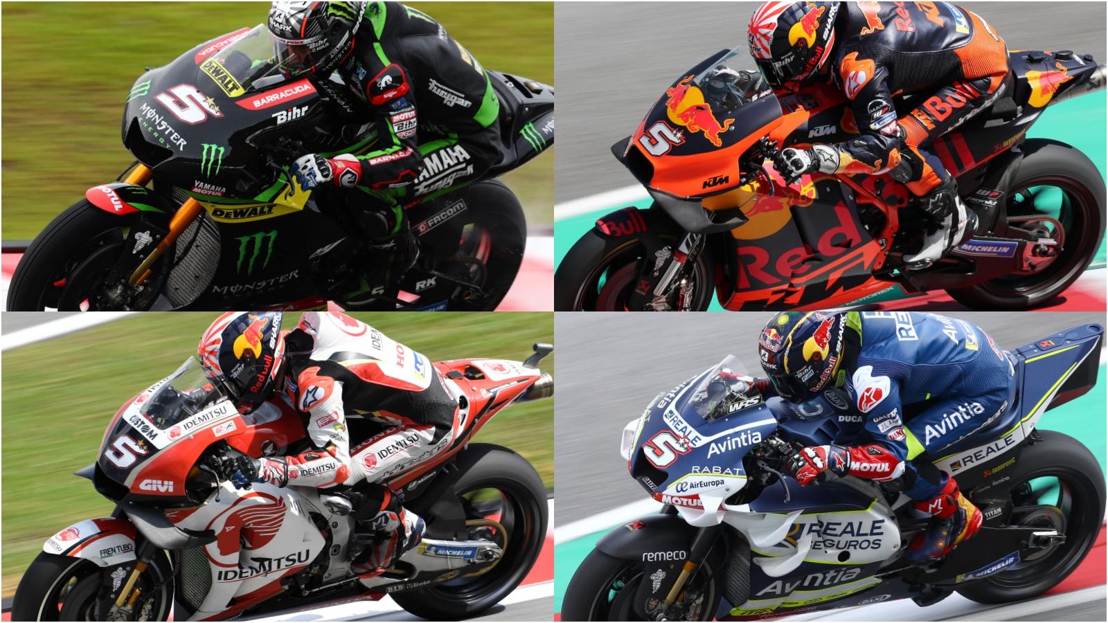 El tour de Johann Zarco por las MotoGP