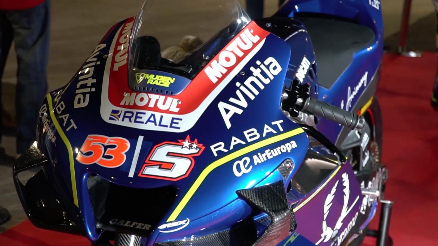 La Ducati Desmosedici GP19 Avintia de Johann Zarco y Tito Rabat para MotoGP 2020