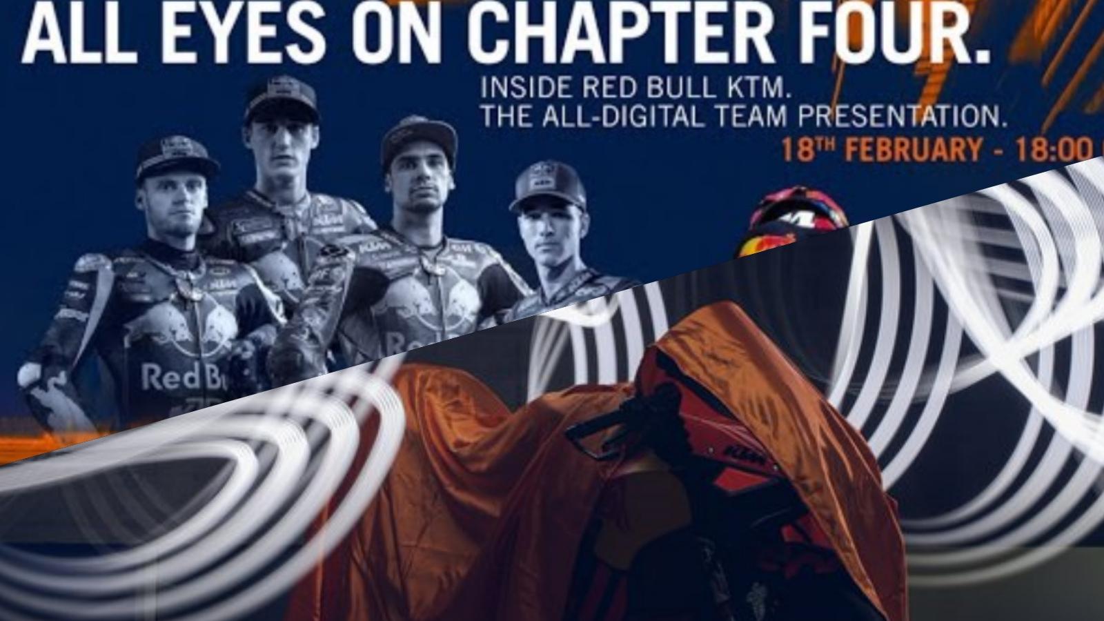 Directo: Presentación KTM RC16 MotoGP Factory Racing y Tech 3