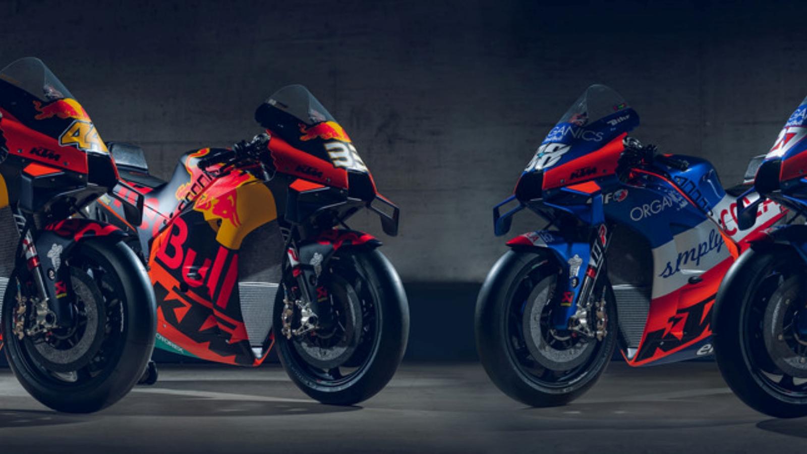 Vuelve a ver la presentación de las KTM RC16 Factory y Tech 3 para MotoGP 2020