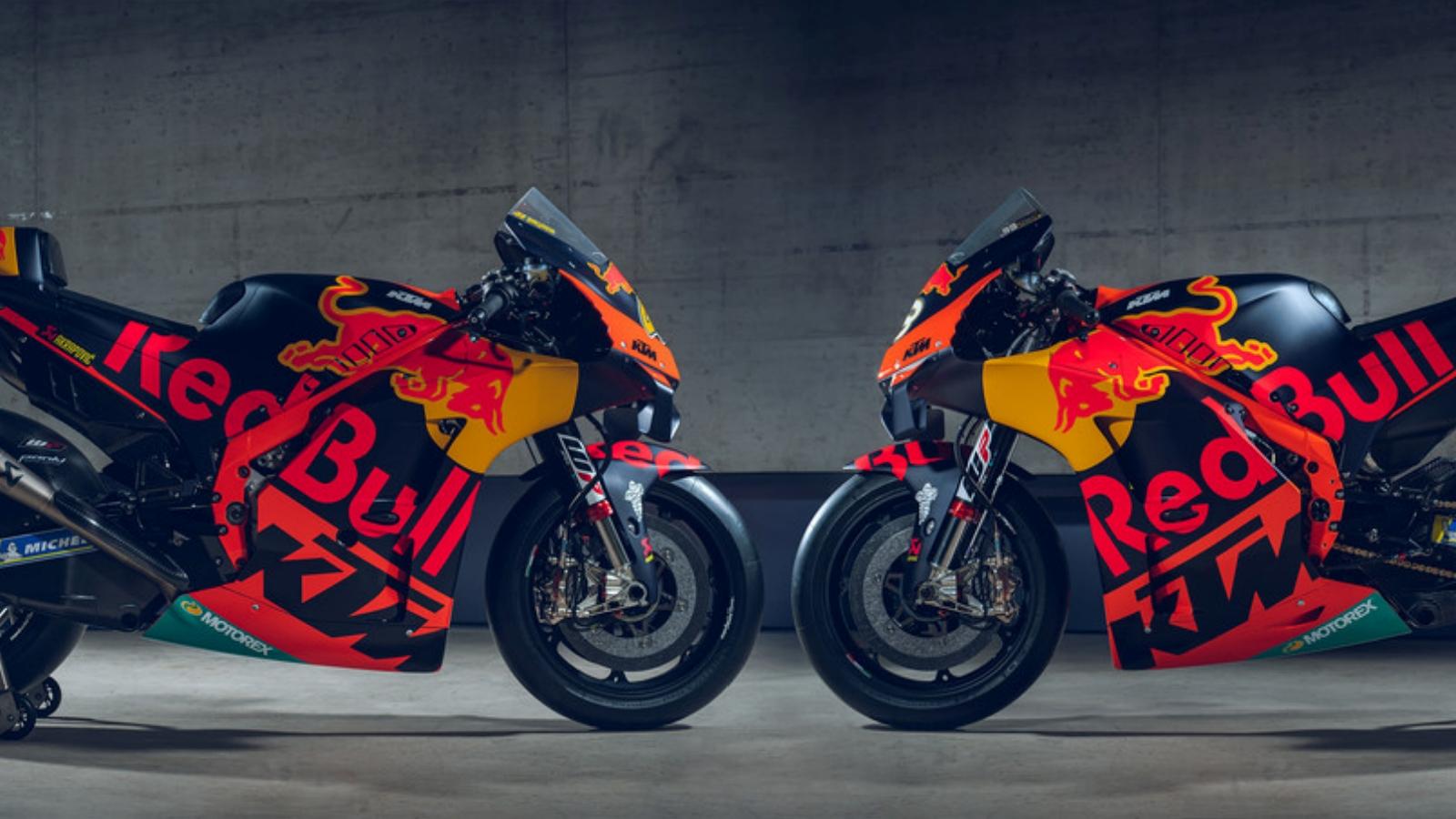 La KTM RC16 Factory de Pol Espargaró y Brad Binder para MotoGP 2020