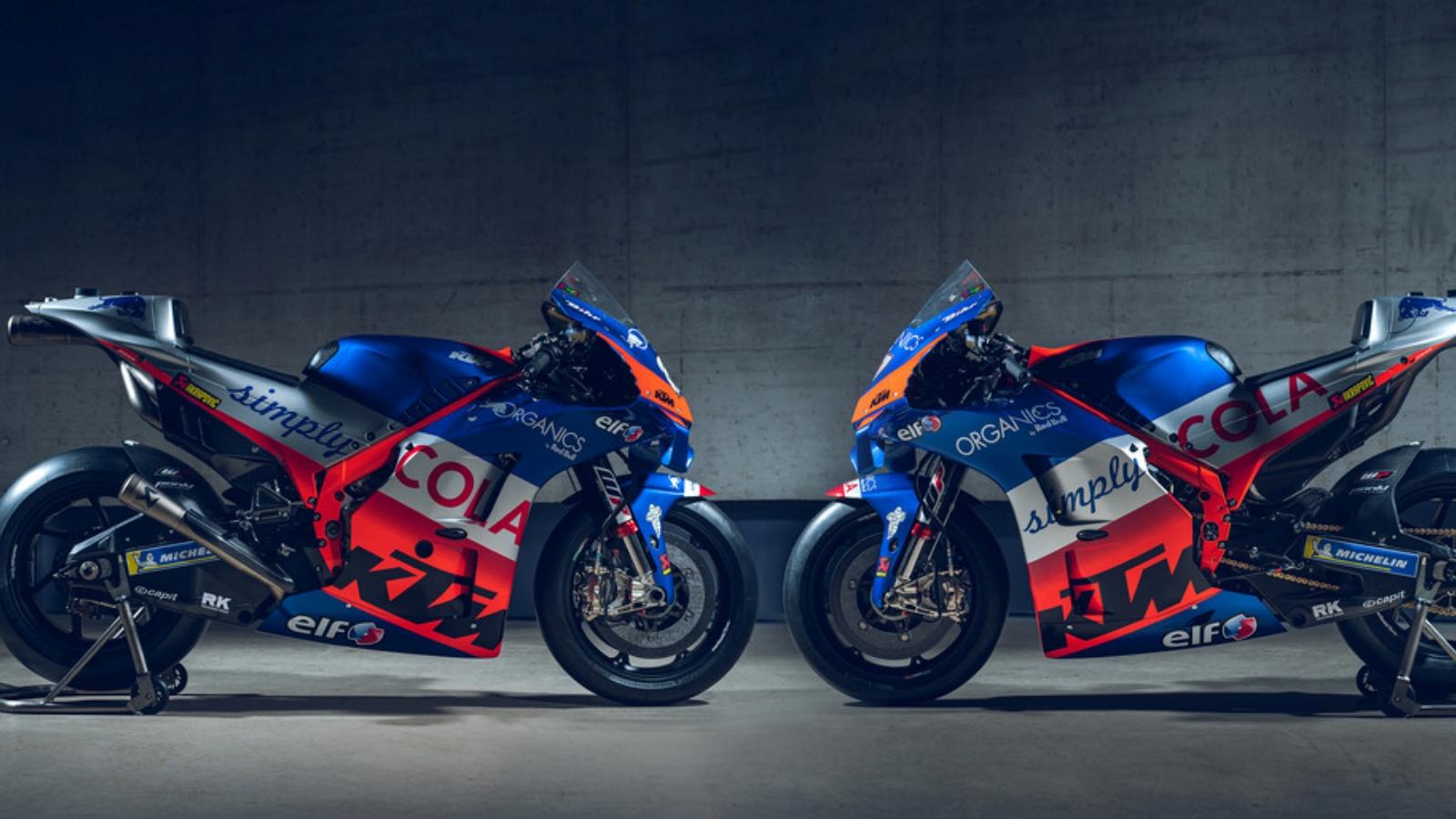 La KTM RC16 Tech 3 de Miguel Oliveira e Iker Lecuona para MotoGP 2020