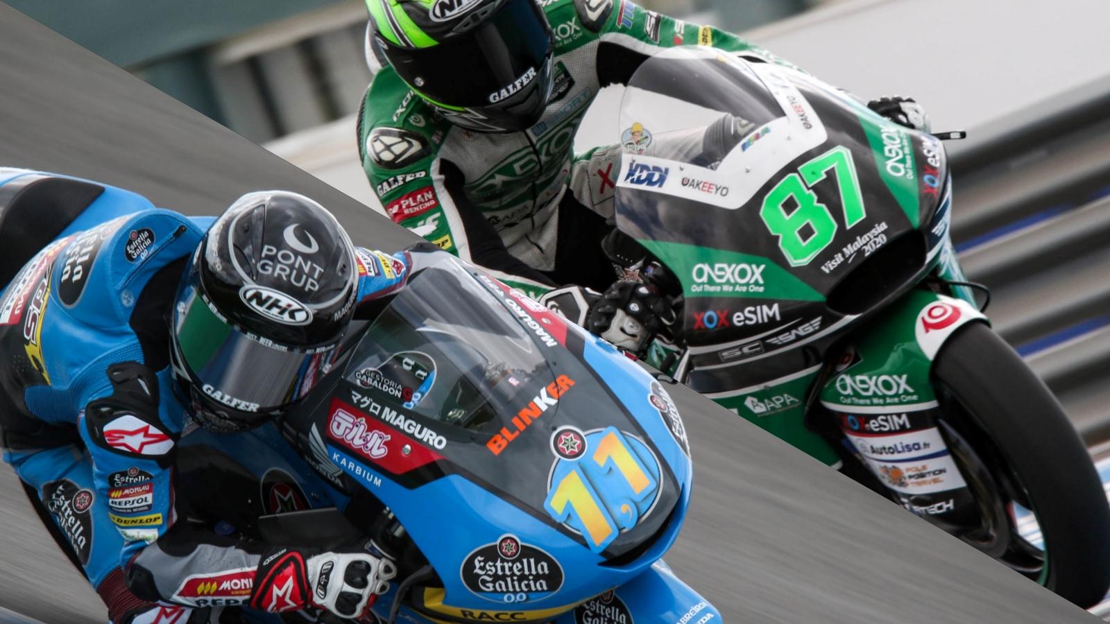 Remy Gardner lidera Moto2 y Sergio García Moto3 el primer día del test oficial en Jerez