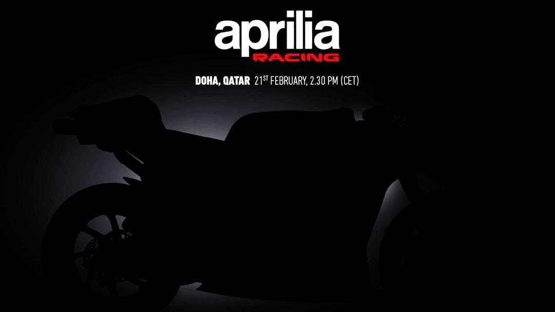 En directo (14:30) Presentación Aprilia RS-GP MotoGP 2020